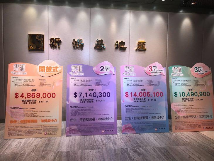 香港云汇房价486.9万起