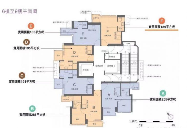 南津迎岸-香港南津迎岸,户型图,面积,价格