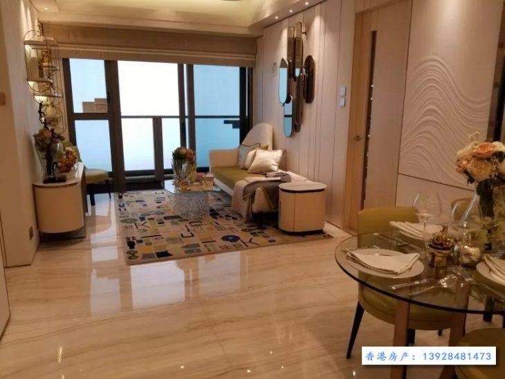 香港房产新盘嘉熙成交价8800万