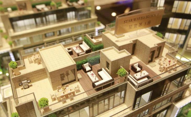 香港启德天环1房尺价3.02万贵绝同区同类单位
