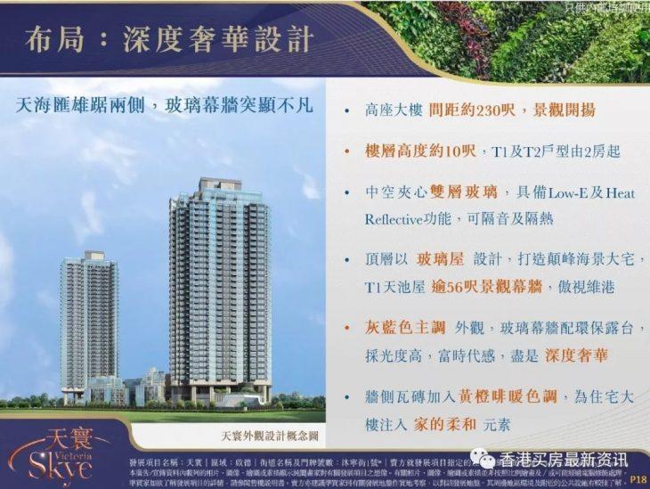 香港九龙东天环高层四房4534万尺价3.81万创新高