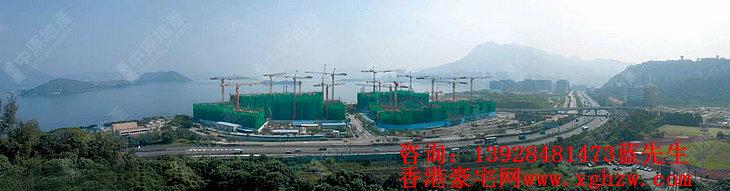 天赋海湾二期香港溋玥天赋海湾近东铁线大学站香港新界房产