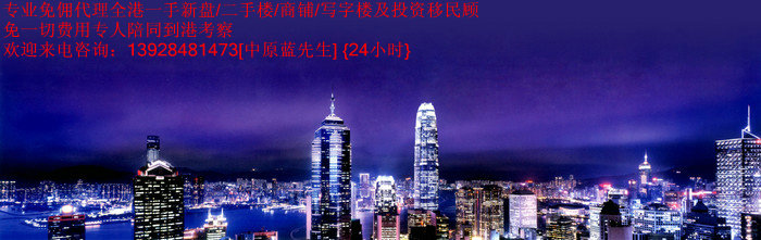 香港上环/中环新楼盘尚贤居 (1)