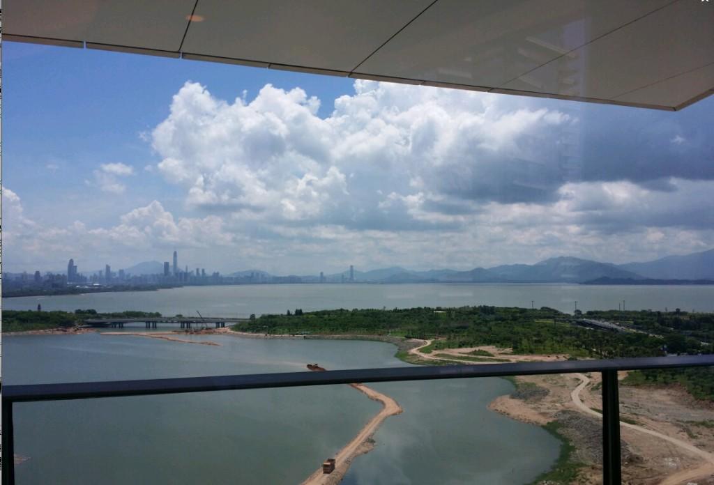 深圳湾一号实景2