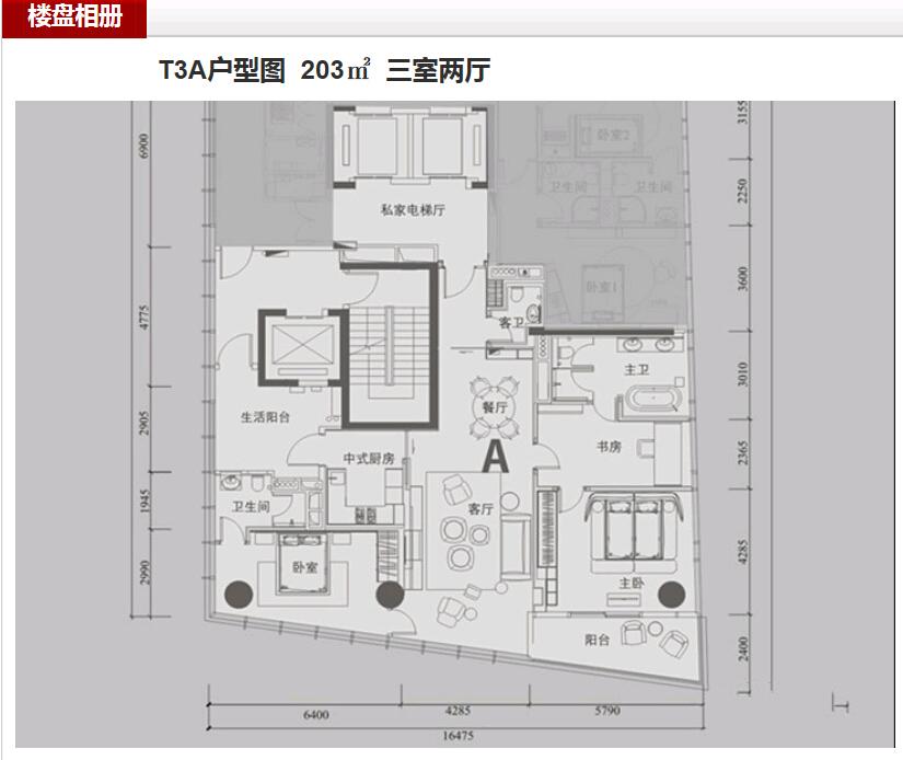 深圳湾一号户型图2