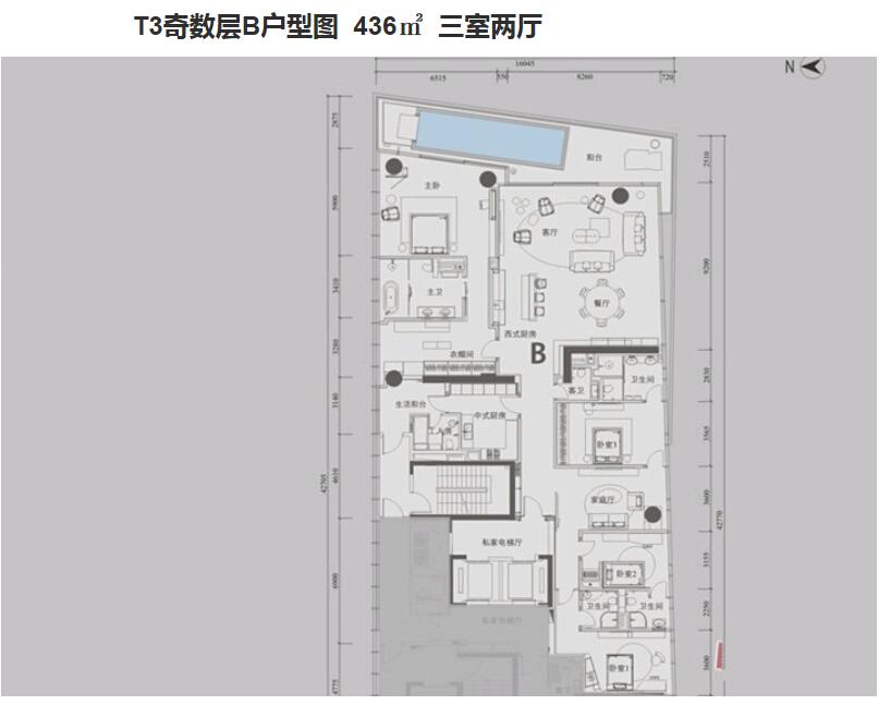 深圳湾一号户型图1