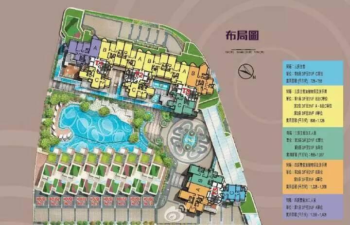 维港星岸平面图 (1)