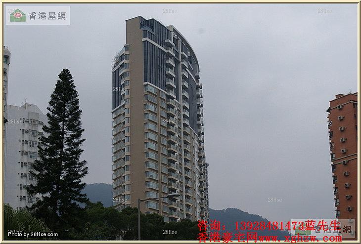 名家汇-香港沙田半山豪宅,位处沙田区名校网