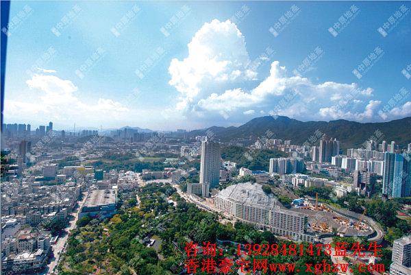 御豪门-香港九龙城豪宅项目,共提供266伙,一手现房即买即住
