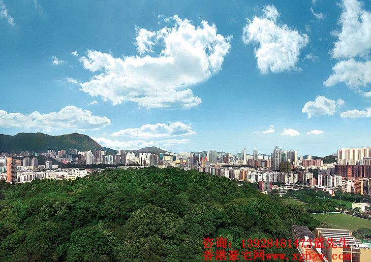 晓尚-香港九龙新楼盘面積由370平方呎至690平方呎