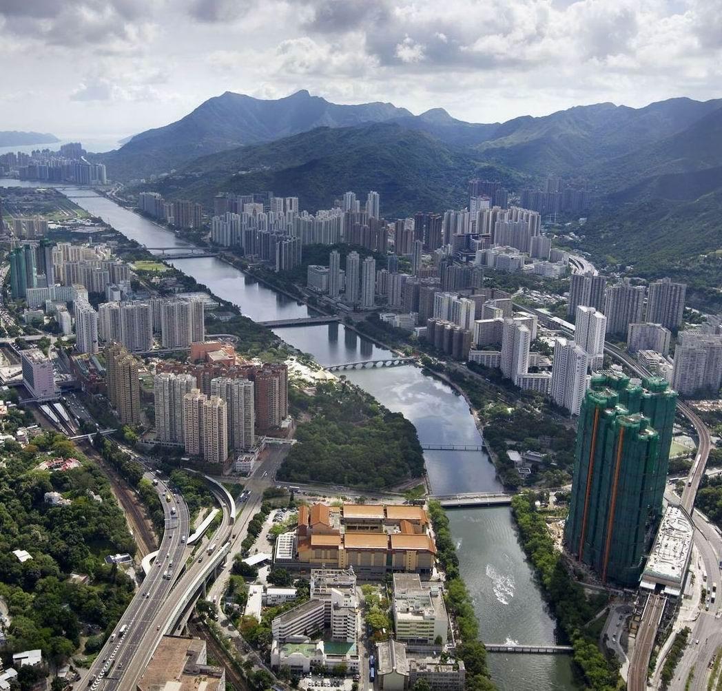 溱岸8號-香港新界沙田房产面積由670至1,800平方呎