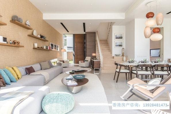 香港房产柏蔚山主打三房