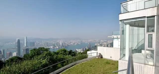 香港周星驰山顶别墅普乐道独立别墅