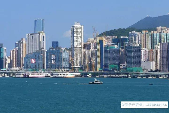 香港房产海璇位处港岛、享有维港海景