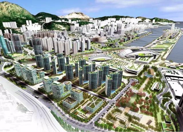 香港九龙启德站房产OASIS KAI TAK招标4557万售出低座