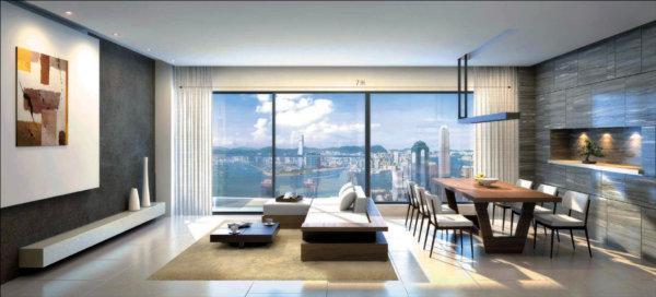 蔚然-香港西半山豪宅,位于香港大学附近香港最好校网之一