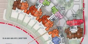 香港房产海天晋精选34间单位 面积和价格
