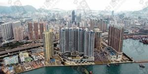香港九龙浪澄湾低层两房海景户550尺860万