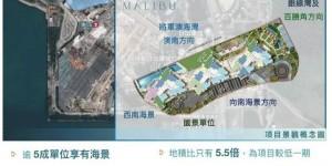 香港房产MALIBU率先推售的500伙