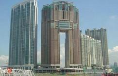 香港九龙区尖沙咀附近楼盘凯旋门