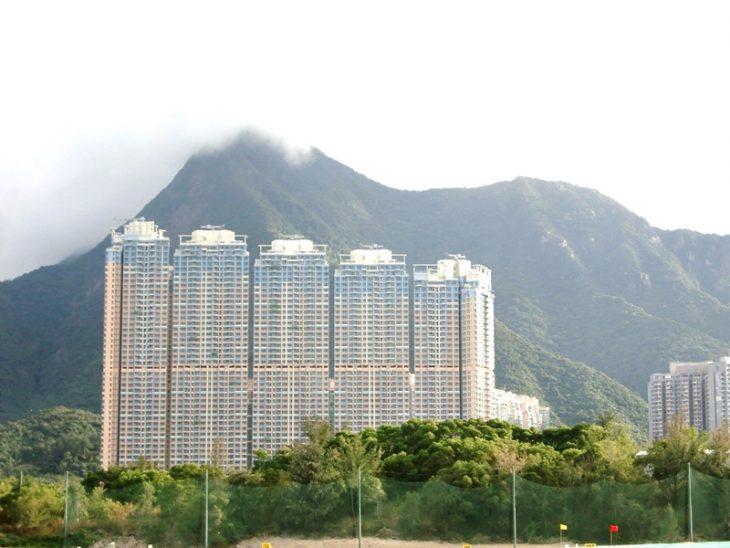 香港马鞍山远景