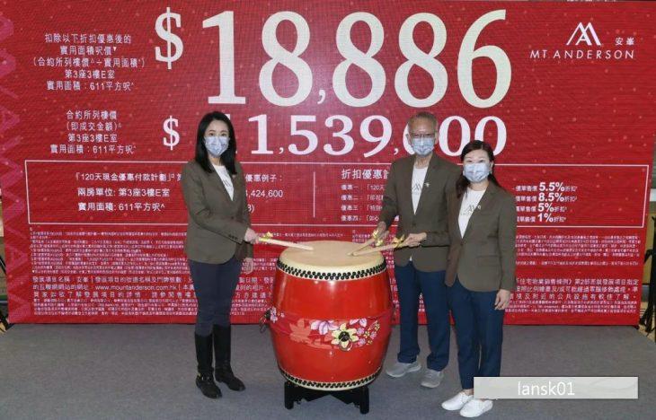 香港新楼盘安峰价格 (1)