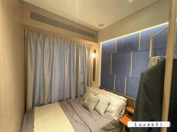 香港蔚蓝东岸样板房(卧室)