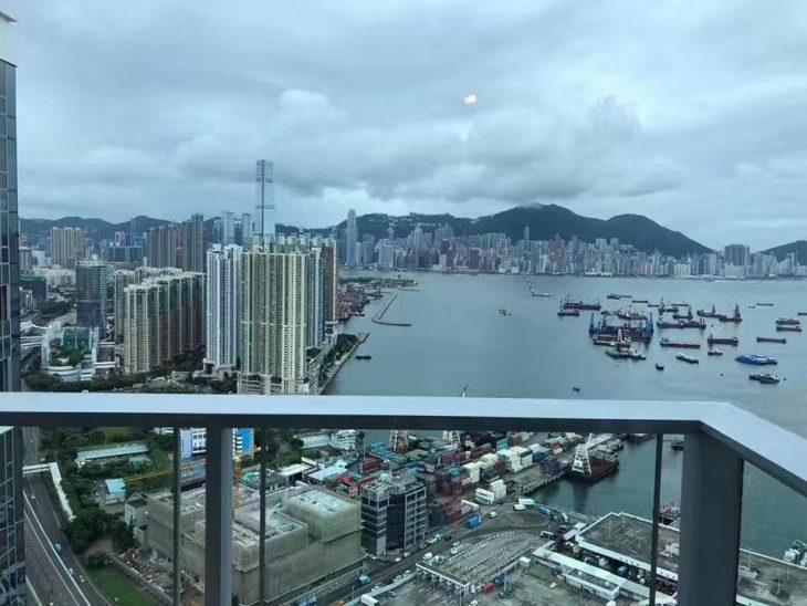 香港汇玺看海景