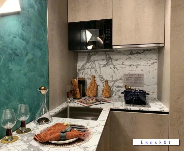 香港新楼盘奥利坊示范单位开放式厨房
